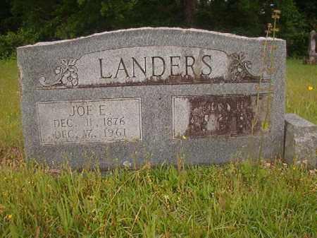 LANDERS, JOE E - Nevada County, Arkansas | JOE E LANDERS - Arkansas Gravestone Photos
