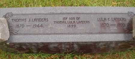 LANDERS, INFANT SON - Nevada County, Arkansas | INFANT SON LANDERS - Arkansas Gravestone Photos