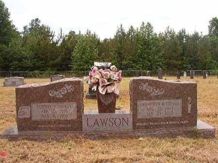 "LAWSON, GUFFREY P ""SHORTY"" - Nevada County, Arkansas | GUFFREY P ""SHORTY"" LAWSON - Arkansas Gravestone Photos"
