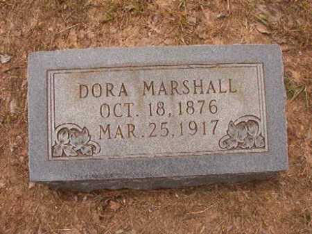 MARSHALL, DORA - Nevada County, Arkansas | DORA MARSHALL - Arkansas Gravestone Photos