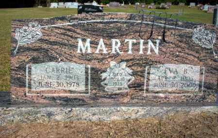 MARTIN, EVA B - Nevada County, Arkansas | EVA B MARTIN - Arkansas Gravestone Photos