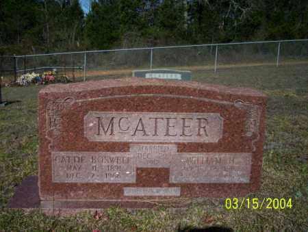 MCATEER, CATTIE - Nevada County, Arkansas | CATTIE MCATEER - Arkansas Gravestone Photos