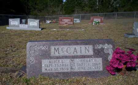 MCCAIN, HENRY H - Nevada County, Arkansas | HENRY H MCCAIN - Arkansas Gravestone Photos