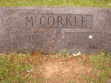 MCCORKLE, LOIS - Nevada County, Arkansas | LOIS MCCORKLE - Arkansas Gravestone Photos