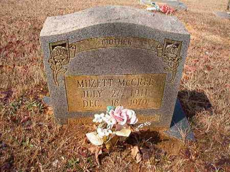 MCCREE, MUZETTE - Nevada County, Arkansas | MUZETTE MCCREE - Arkansas Gravestone Photos