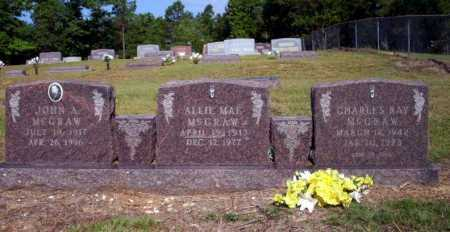 MCGRAW, CHARLES RAY - Nevada County, Arkansas | CHARLES RAY MCGRAW - Arkansas Gravestone Photos