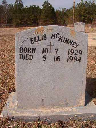 MCKINNEY, ELLIS - Nevada County, Arkansas | ELLIS MCKINNEY - Arkansas Gravestone Photos