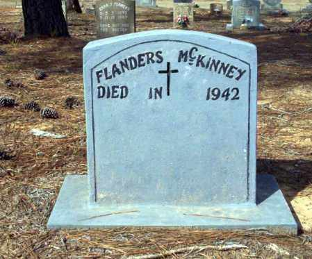 MCKINNEY, FLANDERS - Nevada County, Arkansas | FLANDERS MCKINNEY - Arkansas Gravestone Photos