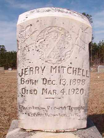 MITCHELL, JERRY - Nevada County, Arkansas | JERRY MITCHELL - Arkansas Gravestone Photos
