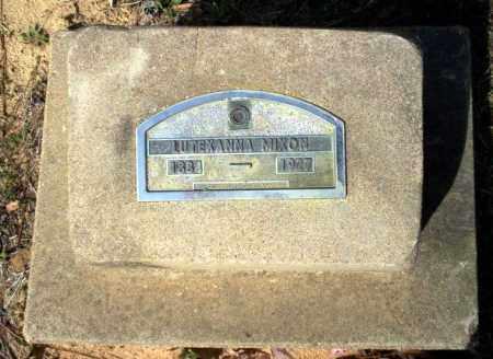 MIXON, LUTEXANNA - Nevada County, Arkansas | LUTEXANNA MIXON - Arkansas Gravestone Photos