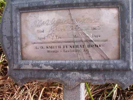 MIXON, MRS. AGNES - Nevada County, Arkansas | MRS. AGNES MIXON - Arkansas Gravestone Photos