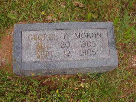 MOHON, GEORGE F - Nevada County, Arkansas | GEORGE F MOHON - Arkansas Gravestone Photos