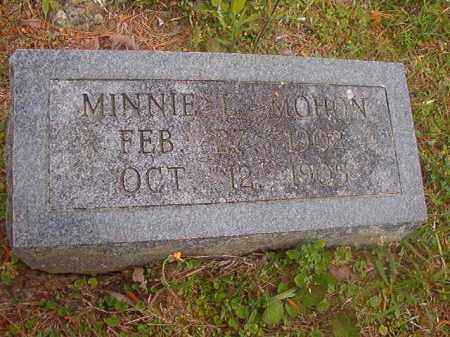 MOHON, MINNIE L - Nevada County, Arkansas | MINNIE L MOHON - Arkansas Gravestone Photos