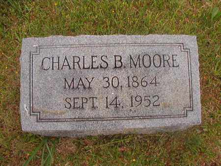 MOORE, CHARLES B - Nevada County, Arkansas | CHARLES B MOORE - Arkansas Gravestone Photos