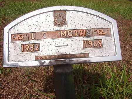 MORRIS, L C - Nevada County, Arkansas | L C MORRIS - Arkansas Gravestone Photos