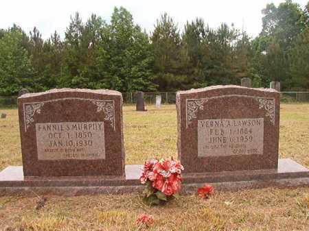 MURPHY, FANNIE S - Nevada County, Arkansas | FANNIE S MURPHY - Arkansas Gravestone Photos
