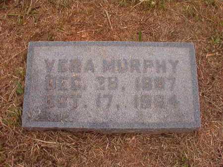 MURPHY, VERA - Nevada County, Arkansas | VERA MURPHY - Arkansas Gravestone Photos