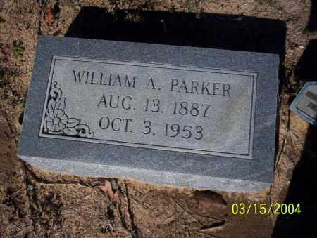 PARKER, WILLIAM A - Nevada County, Arkansas | WILLIAM A PARKER - Arkansas Gravestone Photos