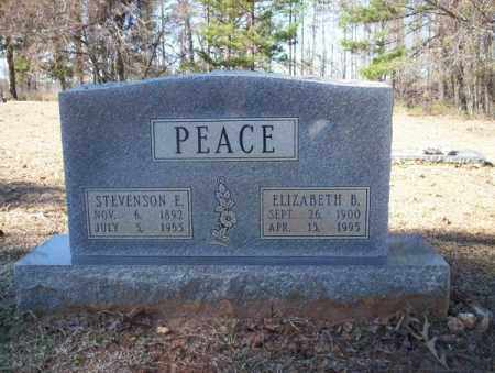 PEACE, STEVENSON E - Nevada County, Arkansas | STEVENSON E PEACE - Arkansas Gravestone Photos