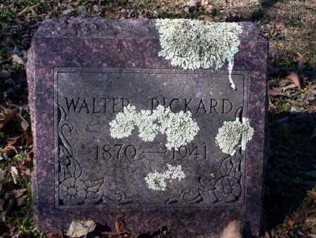 PICKARD, WALTER - Nevada County, Arkansas | WALTER PICKARD - Arkansas Gravestone Photos
