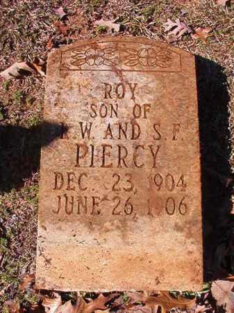PIERCY, ROY - Nevada County, Arkansas | ROY PIERCY - Arkansas Gravestone Photos