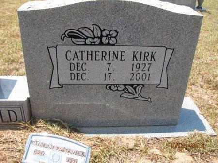 PORTERFIELD, CATHERINE (CLOSEUP) - Nevada County, Arkansas | CATHERINE (CLOSEUP) PORTERFIELD - Arkansas Gravestone Photos