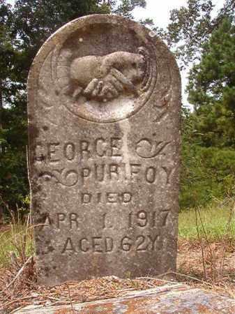 PURIFOY, GEORGE - Nevada County, Arkansas | GEORGE PURIFOY - Arkansas Gravestone Photos