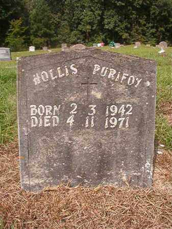 PURIFOY, HOLLIS - Nevada County, Arkansas | HOLLIS PURIFOY - Arkansas Gravestone Photos