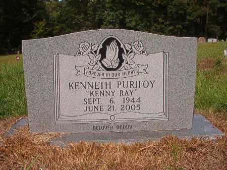 PURIFOY, KENNETH - Nevada County, Arkansas | KENNETH PURIFOY - Arkansas Gravestone Photos