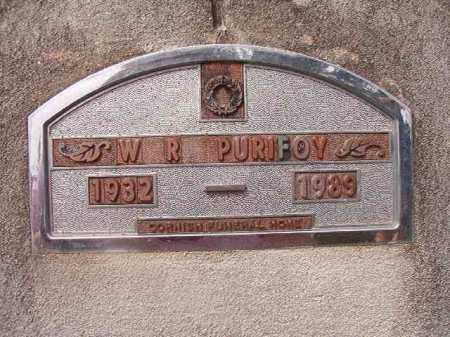 PURIFOY, W R - Nevada County, Arkansas | W R PURIFOY - Arkansas Gravestone Photos