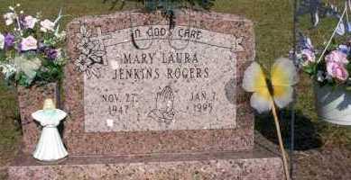JENKINS ROGERS, MARY LAURA - Nevada County, Arkansas | MARY LAURA JENKINS ROGERS - Arkansas Gravestone Photos