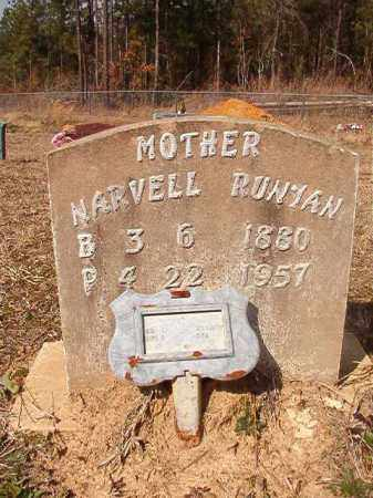 RUNYAN, NARVELL - Nevada County, Arkansas | NARVELL RUNYAN - Arkansas Gravestone Photos