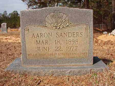 SANDERS, AARON - Nevada County, Arkansas | AARON SANDERS - Arkansas Gravestone Photos