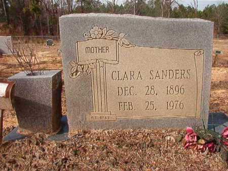 SANDERS, CLARA - Nevada County, Arkansas   CLARA SANDERS - Arkansas Gravestone Photos