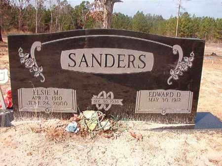 SANDERS, ELSIE M - Nevada County, Arkansas | ELSIE M SANDERS - Arkansas Gravestone Photos