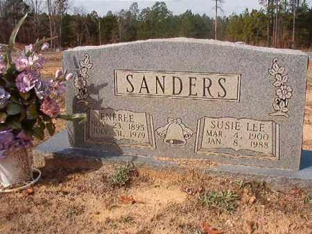 SANDERS, ENEREE - Nevada County, Arkansas   ENEREE SANDERS - Arkansas Gravestone Photos