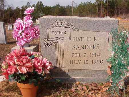SANDERS, HATTIE R - Nevada County, Arkansas | HATTIE R SANDERS - Arkansas Gravestone Photos