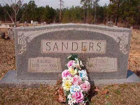 SANDERS, PRIMUS - Nevada County, Arkansas | PRIMUS SANDERS - Arkansas Gravestone Photos