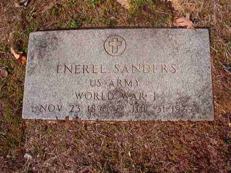 SANDERS (VETERAN WWI), ENEREE - Nevada County, Arkansas | ENEREE SANDERS (VETERAN WWI) - Arkansas Gravestone Photos