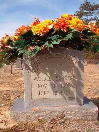 SANDERS, WARDELL - Nevada County, Arkansas   WARDELL SANDERS - Arkansas Gravestone Photos