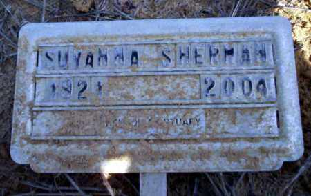 SHERMAN, SUVANNA - Nevada County, Arkansas | SUVANNA SHERMAN - Arkansas Gravestone Photos