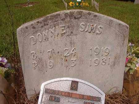SIMS, DONNIE - Nevada County, Arkansas | DONNIE SIMS - Arkansas Gravestone Photos