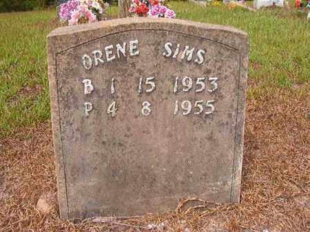 SIMS, ORENE - Nevada County, Arkansas | ORENE SIMS - Arkansas Gravestone Photos