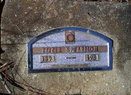 SPEARMON, ELIZER - Nevada County, Arkansas   ELIZER SPEARMON - Arkansas Gravestone Photos