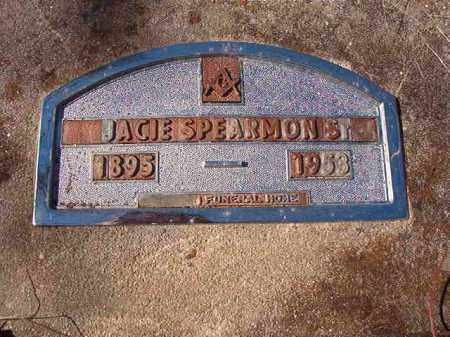 SPEARMON, SR, JACIE - Nevada County, Arkansas | JACIE SPEARMON, SR - Arkansas Gravestone Photos