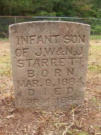 STARRETT, INFANT SON - Nevada County, Arkansas | INFANT SON STARRETT - Arkansas Gravestone Photos