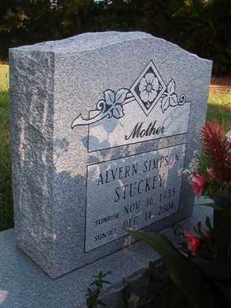 STUCKEY, ALVERN - Nevada County, Arkansas | ALVERN STUCKEY - Arkansas Gravestone Photos