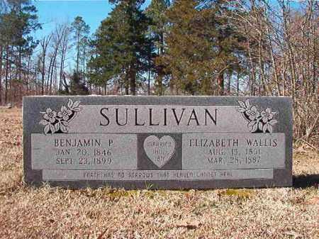 SULLIVAN, ELIZABETH - Nevada County, Arkansas | ELIZABETH SULLIVAN - Arkansas Gravestone Photos