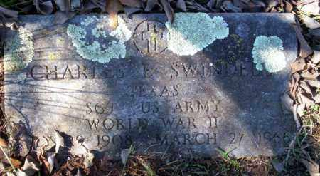 SWINDLE  (VETERAN WWII), CHARLES - Nevada County, Arkansas | CHARLES SWINDLE  (VETERAN WWII) - Arkansas Gravestone Photos