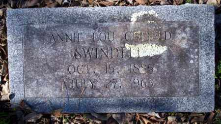 COFIELD SWINDLE, ANNIE LOU - Nevada County, Arkansas | ANNIE LOU COFIELD SWINDLE - Arkansas Gravestone Photos